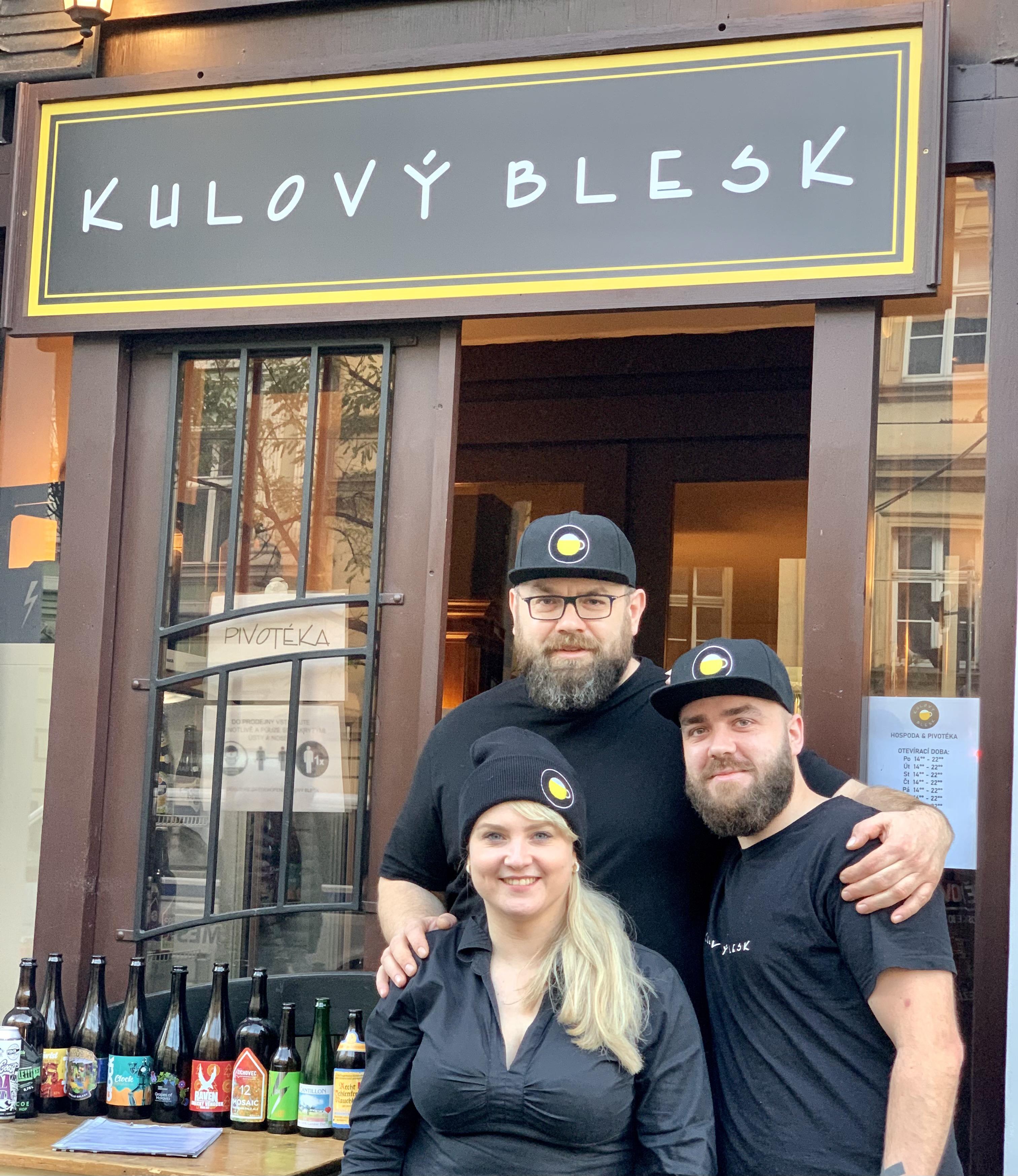 Kulový Blesk - Libor, Verča a Michal